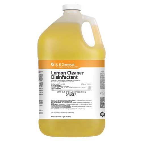 Lemon Cleaner Disinfectant - 1 Gallon