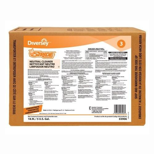 STRIDE Citrus Neutral General Purpose Cleaner, 5-gal. Box