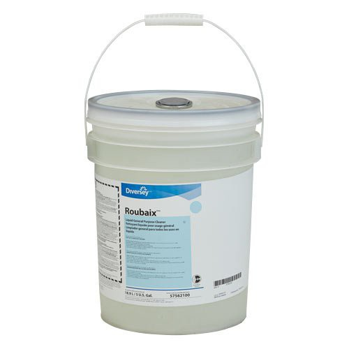 Roubaix Multi-Purpose Meat Room Cleaner/Degreaser - 5-Gallon Pail
