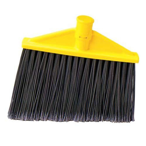 Angle Head Broom is ideal for cleaning hard to reach areas.