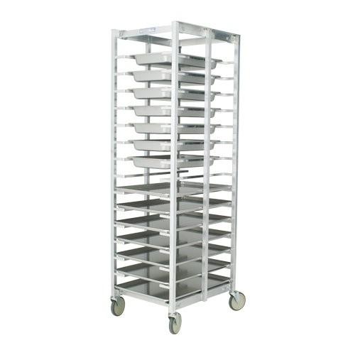 Knock-Down Aluminum Universal Pan Rack