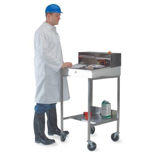 Heavy-Duty Stainless Steel Receiving Desk