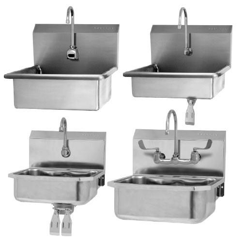 Sani-Lav Wall-Mount Hand-Wash Sinks