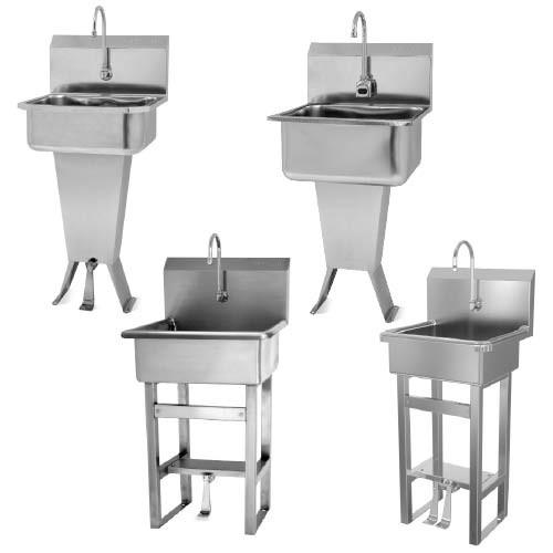 Sani-Lav Floor-Mount Hand-Wash Sinks