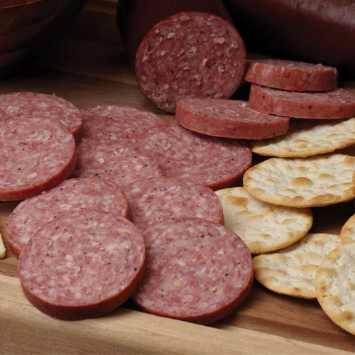 Legg's Summer Sausage #114 is everyone's favorite!