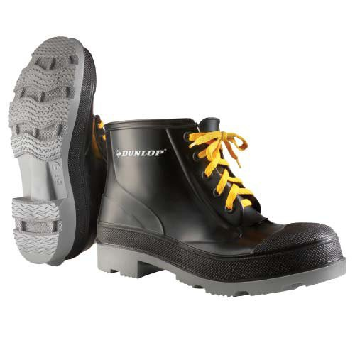 Polyblend Steel Toe Work Shoes provide moderate resistance