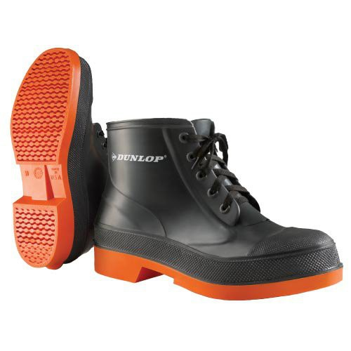The Sureflex Work Shoe is an excellent boot for use in chemicals and food processing.