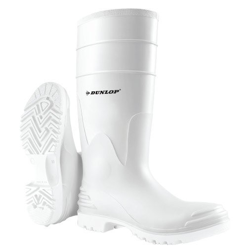 White PolyMax Boot features a self-cleaning Ultra-Grip sole for extreme abrasion and slip-resistance.