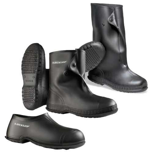 """PVC Overshoes are available in 4"""", 10"""" or 17"""" uppers."""