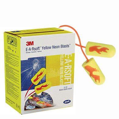3M E-A-Rsoft® Yellow Neons™ Blasts™- NRR33