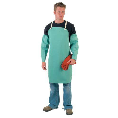 Flame Resistant Cotton Bib Apron (sleeves are sold separately).