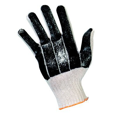 String Knit PVC Coated Gloves