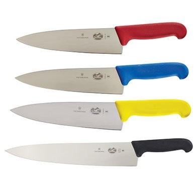 Victorinox Chef Knives with Fibrox Handles