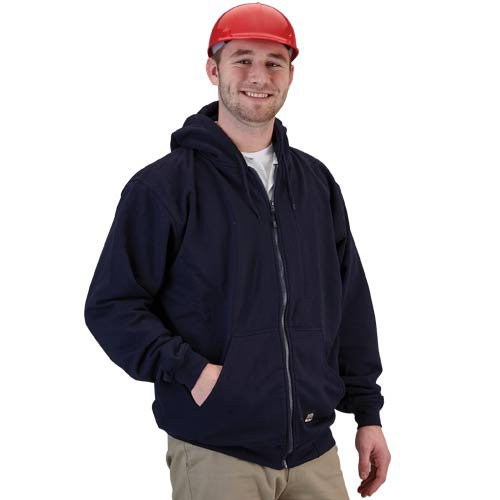 This hooded thermal jacket is not your average sweatshirt!