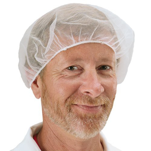 Nylon Stockinet Hairnet is 100% latex free.
