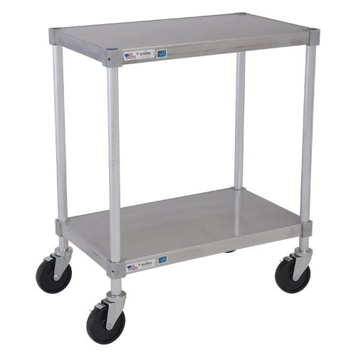 Solid Shelf Aluminum Equipment Stands