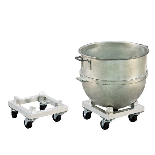 Choose from low-profile or high-profile dolly. Mixing bowl is not included.
