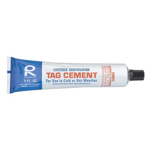 Livestock ID Tag Cement
