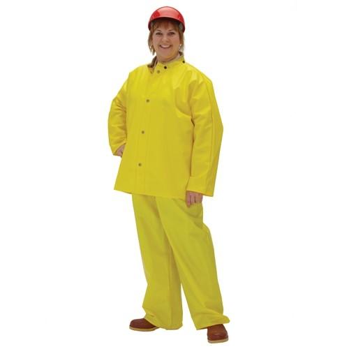 Webdri PVC on Polyester Rainsuit