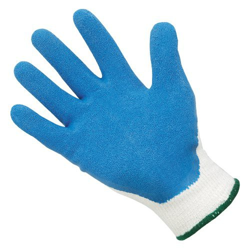 Poly/Cotton Knit Gloves With Latex Coated Palm