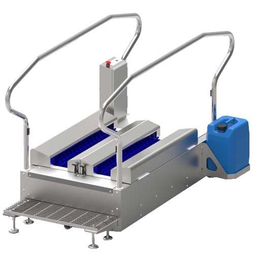 XBW 3.0 Automated Boot Washing Station
