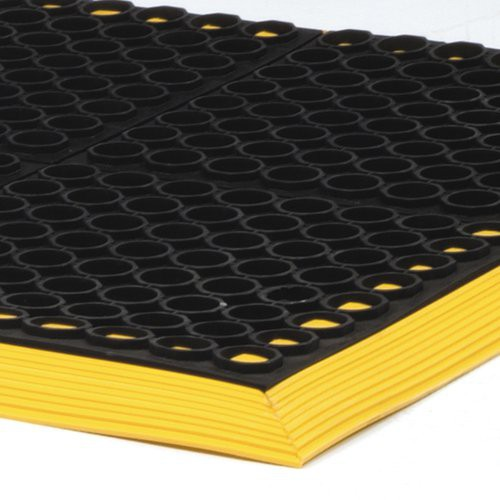 SafeWalk Floor Mat - thicker and with bright yellow border