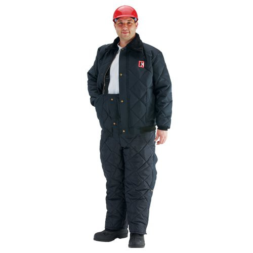 Koldwear separates feature a nylon duck outer covering 11.5 oz. 808 DuPont HolloFil insulation is rated down to -45 degrees F.
