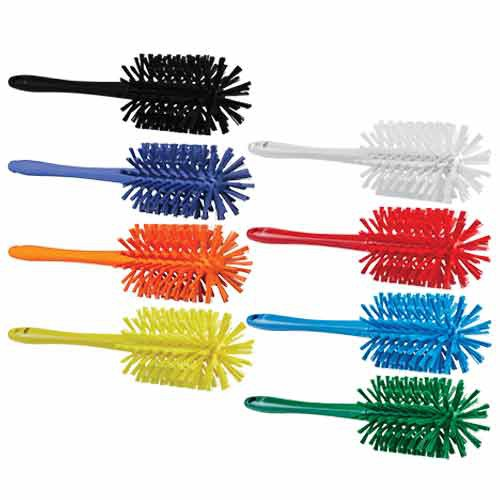 Vikan Total Color Bottle Brushes are available in a variety of colors.