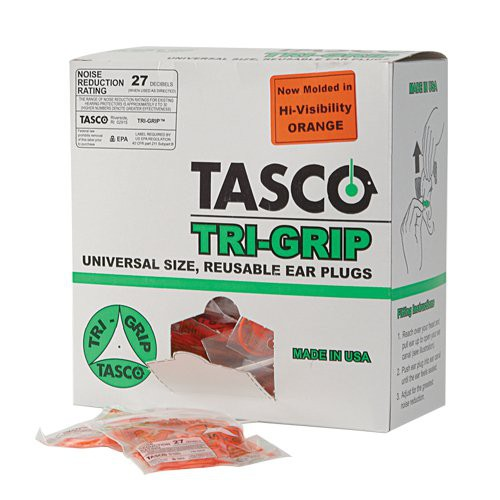 Tasco Tri-Grip Earplugs