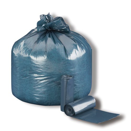 2.5-Mil. Steel Blue Heavy-Duty Can Liners