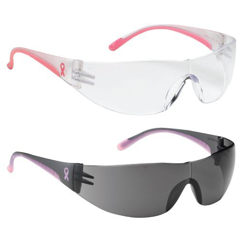 Pink Frame Safety Glasses