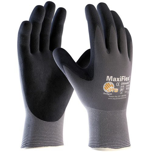 MaxiFlex Ultimate Gloves keep hands cool and dry.