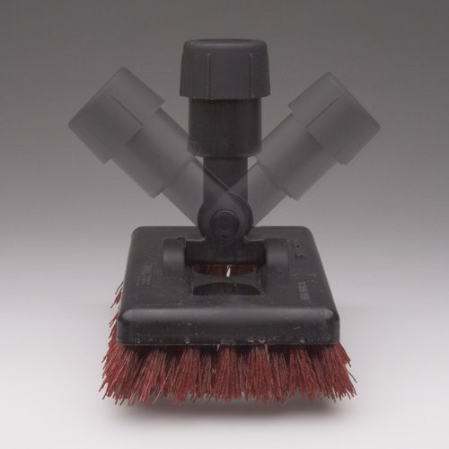 Carlisle Swivel Scrub Brush features a 4-way swivel head.