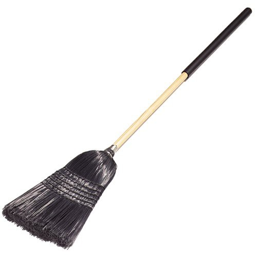 Synthetic Corn Broom (Black)