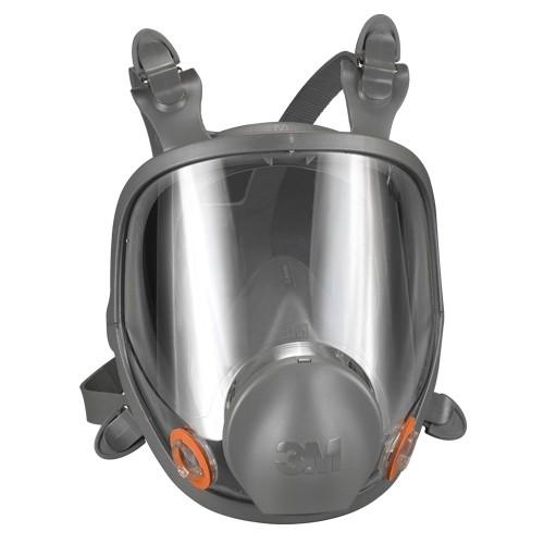 3M 6000 Series Silicone Full-Face Respirator