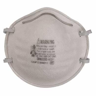3M Particulate Respirator, 8200