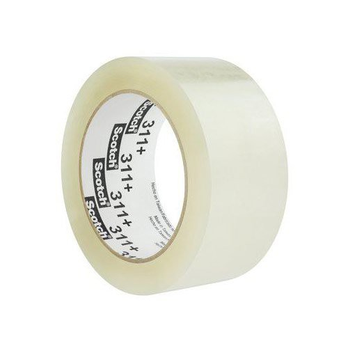 Scotch 311+ Clear High Tack Box Sealing Tape