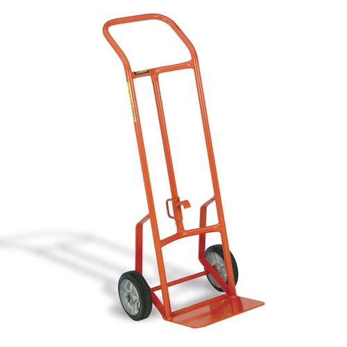 800-lb. Capacity Drum Hand Truck serves as two trucks in one!