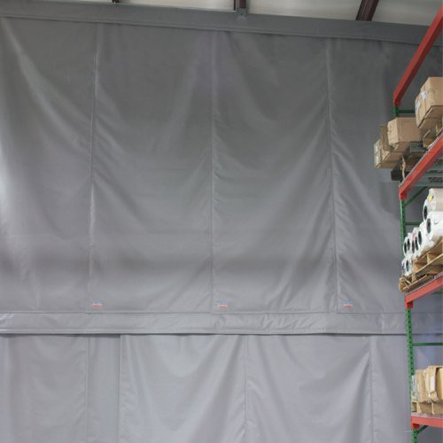 Overlapping panel design - Climate Curtains