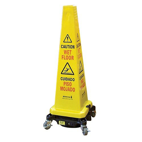 Hurricone Safety Cone Cordless Floor Dryer