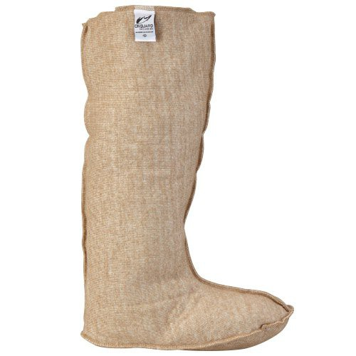 Insulated boot liner provides comfort and helps keep feet warm while wearing knee boots.