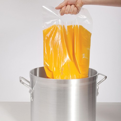Cook Chill bag includes convenient built-in carry handle.