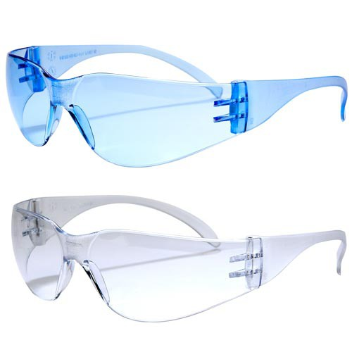 Anti-fog lenses resist fogging while wearing a facemask, or in cold or humid environments.