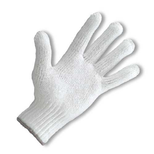 Shrink-Resistant Poly/Cotton Knit Gloves