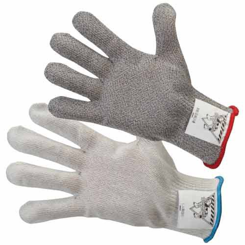 The Workhorse A5 cut resistant gloves are available in gray or white.