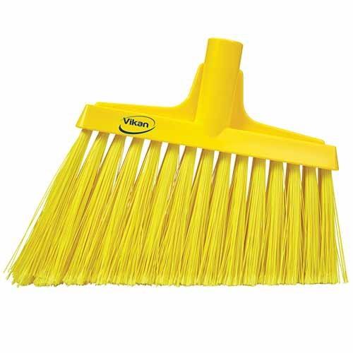 Yellow, Split Bristle Angle Head Broom