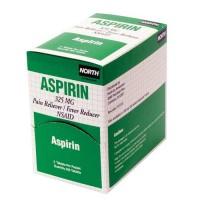 5-Grain Aspirin comes in a convenient dispenser box.