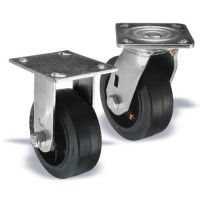 Heavy-Duty Plate Style Casters