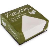 "Patty Paper is 5-1/2"" x 5-1/2"". FDA and USDA compliant."