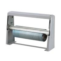 "Film Cutter holds 9"" diameter rolls of film. Film sold separately."